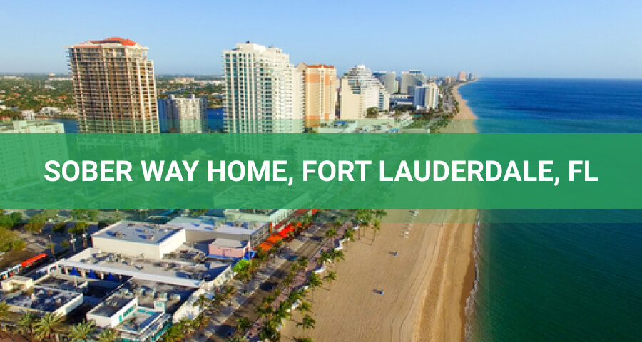Aerial View On Fort Lauderdale Beach