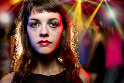 Woman High On Drugs In The Club