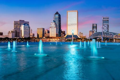 View On Jacksonville, Florida